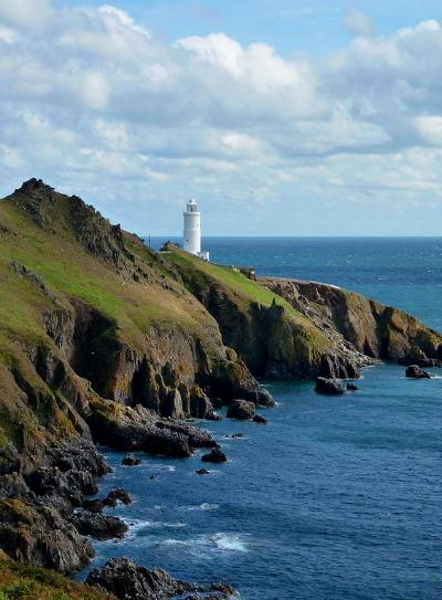 Start Point Lighthouse, Devon, UK