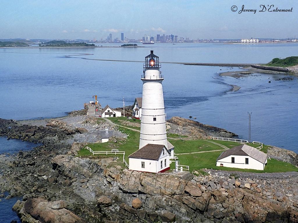 Boston Light, photo by Jeremy D'