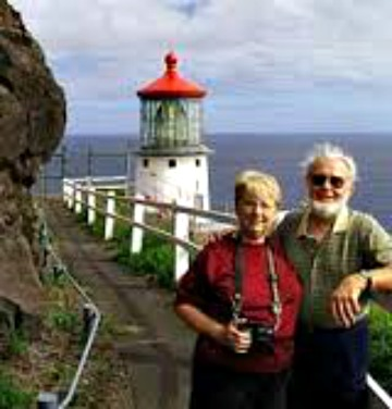 Bob and Sandra Shanklin, The Lighthouse People