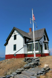 Boston Light's keeper' House, photo by Chuck Turk