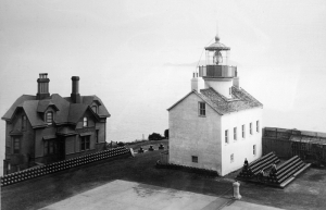 First Alcatraz Lighthouse, courtesy National Archives