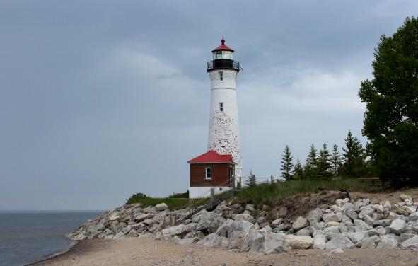 Crisp Point Lighthouse, MI, Photo by Chuck Turk