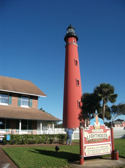Ponce de Leon Inlet Lighthouse. Photo by Chuck Turk