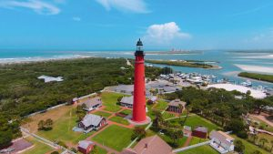 Ponce de Leon Lighthouse and surrounding area today